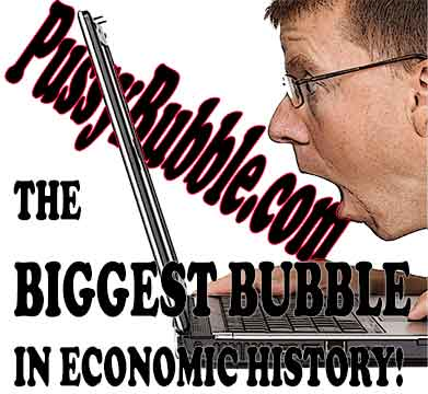 THE PUSSY BUBBLE WILL POP!